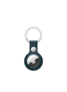 APPLE AIRTAG LEATHER KEY RING,  baltic blue