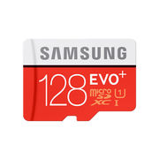 SAMSUNG 128GB MICRO SD CARD WITH ADAPTER