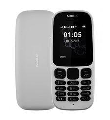 نوكيا 105 (2017),  أبيض, Dual SIM
