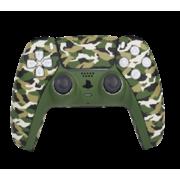 SWITCH PLAYSTATION 5 DUALSENSE WIRELESS CONTROLLER,  camo green design