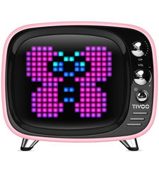 DIVOOM BLUETOOTH SPEAKER TIVOO LIFESTYLE,  pink