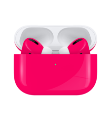SWITCH PAINT AIRPODS PRO WIRELESS NEON BUBBLE GUM, gloss