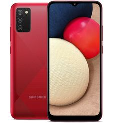 SAMSUNG GALAXY A02s,  red, 32gb