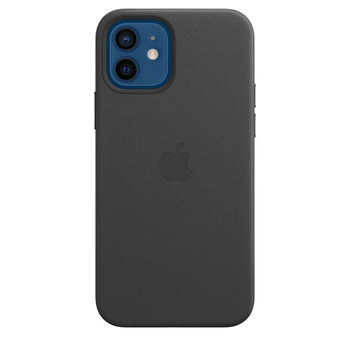 APPLE iPHONE 12| 12 PRO LEATHER CASE WITH MAGSAFE,  saddle brown