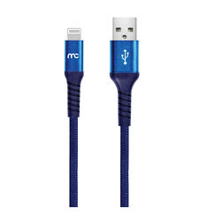 MYCANDY PREMIUM CABLE, 1.2m, usb a to mfi lightning,  pacific blue