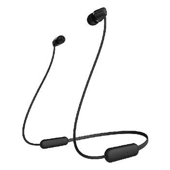 SONY BT IN EAR HEADSET WIC200,  black