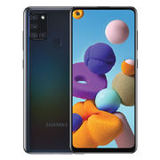 SAMSUNG GALAXY A21S,  black, 64gb