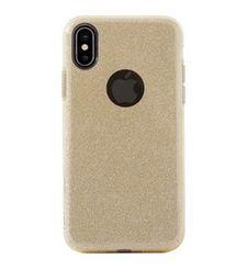 AIINO IPHONE X BACK CASE GLITTER,  gold