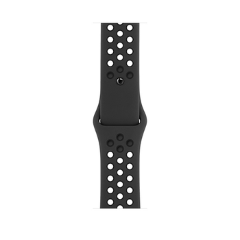 APPLE WATCH SERIES 6 GPS, 44mm,  space grey aluminium black sport band