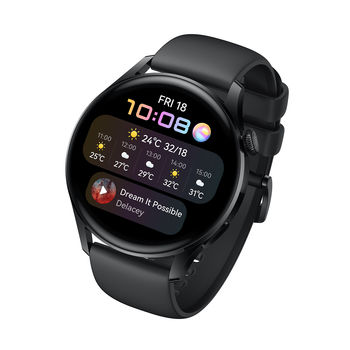 HUAWEI WATCH 3,  black, active edition