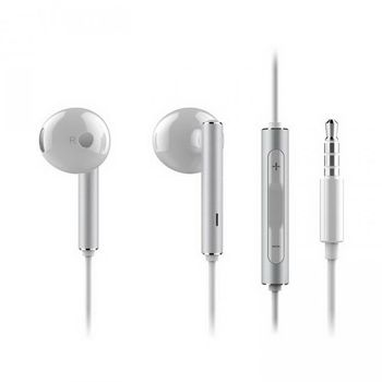 HUAWEI IN EAR STEREO HEADSET WITH METAL COVER,  white
