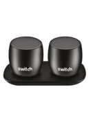 SWITCH WS1 2 X 3W TRUE WIRELESS SPEAKERS BLACK,  black