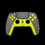SWITCH PLAYSTATION 5 DUALSENSE WIRELESS CONTROLLER,  neon yellow stone finish design