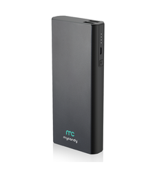 MYCANDY POWER BANK 16750 MAH QC 3 PB21 FG,  black