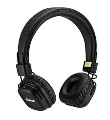MARSHALL MAJOR II BLUETOOTH ON-EAR HEADPHONE,  black