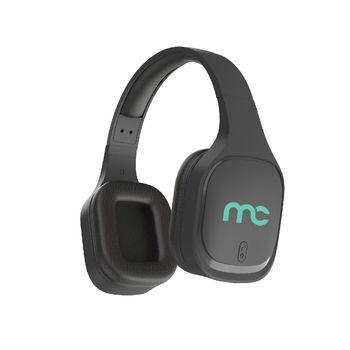 MYCANDY OVER EAR BT STEREO HEADPHONE WH-100 RUBBER FINISH,  black