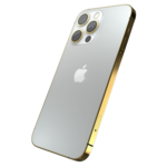 GIVORI APPLE IPHONE 13 PRO MAX GOLD PLATED FRAME,  silver, 512gb