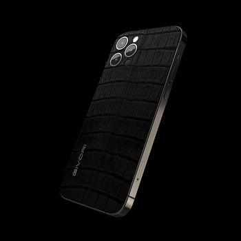GIVORI APPLE IPHONE 12 PRO ALLIGATOR, 5g,  carbon, 256gb