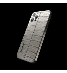 GIVORI APPLE IPHONE 12 PRO MAX ALLIGATOR, 5g,  silver, 512gb