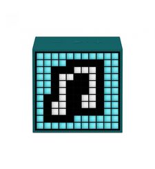 DIVOOM BLUETOOTH SPEAKER TIMEBOX MINI LIFESTYLE,  green