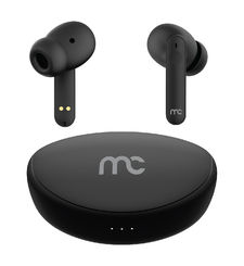 MYCANDY TRUE WIRELESS EARBUDS WITH ACTIVE NOISE CANCELLATION,  black
