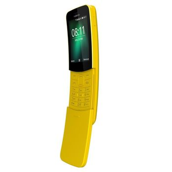 نوكيا 8110 الجيل الرابع (4G) ثنائي الشريحة,  Yellow