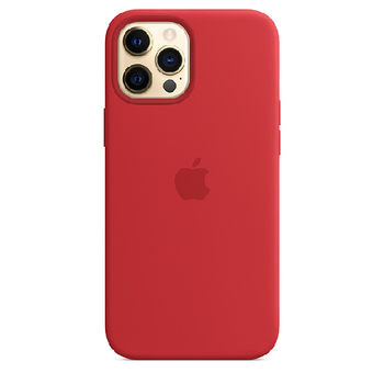 APPLE iPHONE 12 PRO MAX SILICONE CASE WITH MAGSAFE,   product  red