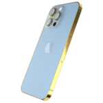 GIVORI APPLE IPHONE 13 PRO MAX GOLD PLATED FRAME,  sierra blue, 512gb