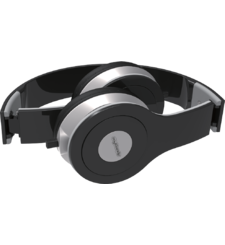 MYCANDY OVER EAR WIRED STEREO HEADPHONE SH01,  black