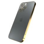 GIVORI APPLE IPHONE 13 PRO MAX GOLD PLATED FRAME,  graphite, 512gb