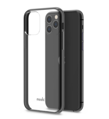 MOSHI IPHONE 11 PRO BACK CASE VITROS,  raven black