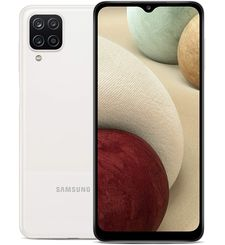 SAMSUNG GALAXY A12 4G,  white, 64gb