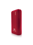 MYCANDY POWER BANK 6700MAH PB19 FG,  red