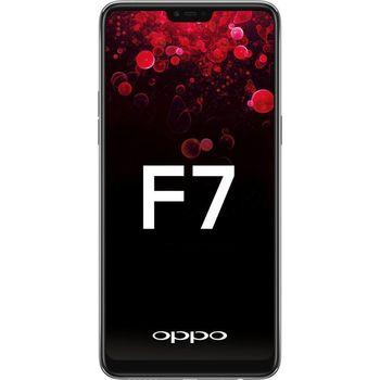 OPPO F7 DUAL SIM,  black, 128gb
