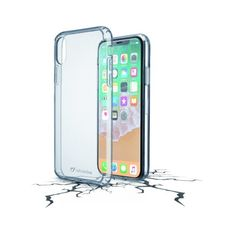 CELLULARLINE IPHONE X BACK CASE HARD CLEAR DUO TRANSPARENT