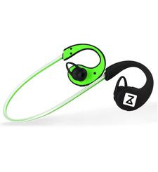 ZAKK FIREFLY BLUETOOTH HEADSET WITH LED LIGHT CABLE,  green