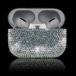 GIVORI APPLE AIRPODS PRO CRYSTAL,  ab silver