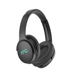 MYCANDY OVER EAR BT STEREO HEADPHONE ACTIVE NOISE CANCELLATION FOLDABLE DESIGN,  black