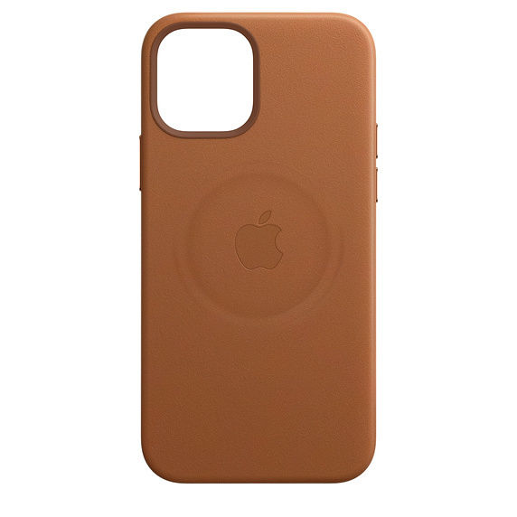 - APPLE iPHONE 12| 12 PRO LEATHER CASE WITH MAGSAFE, saddle brown