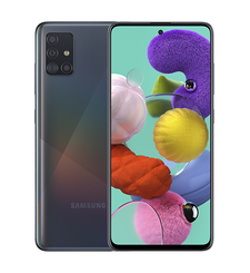 SAMSUNG GALAXY A51 128GB 4G 2020,  prism crush black