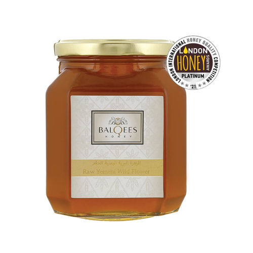 Raw Yemeni Wildflower Honey, 445 g, yes