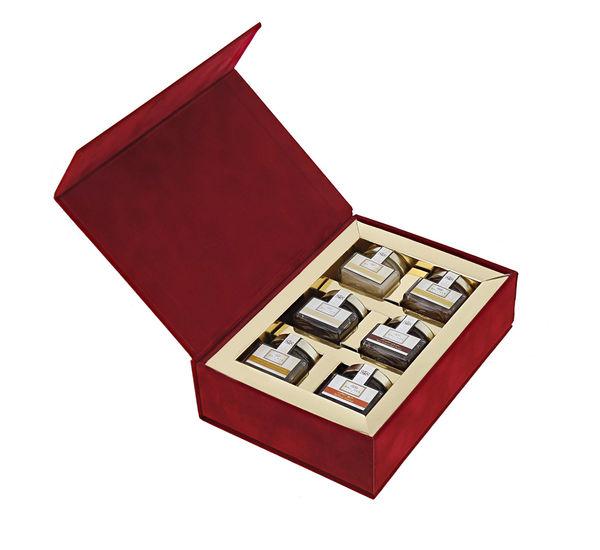 Red Velvet Mini Jars Gift Box