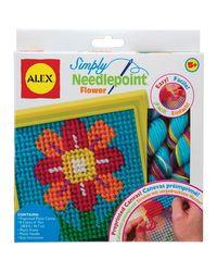 Alex Toys Simply Needlepoint Flower, Age 5+