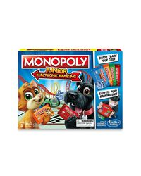 Hasbro Games Monopoly Junior Electronic Banking, Age 5+