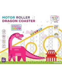 Smartivity Motor Roller Dragon Coaster Diy Kit, Age 6+