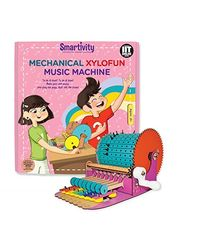 Smartivity Mechanical Xylofun Music Machine Diy Kit, Age 8+