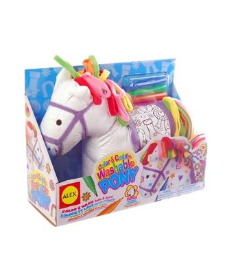 Alex Toys Color & Cuddlewashable Pony, Age 3+