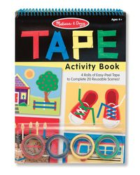 Melissa And Doug Diy Tape Activity Book, Age 4