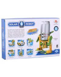 Cute Sunlight 6 in 1 Solar Toy Robot Playset