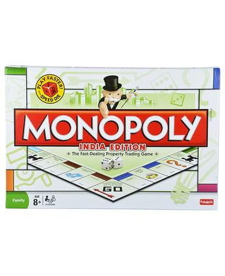 Funskool Monopoly India Edition Family (age 8+ ) , Multi Color